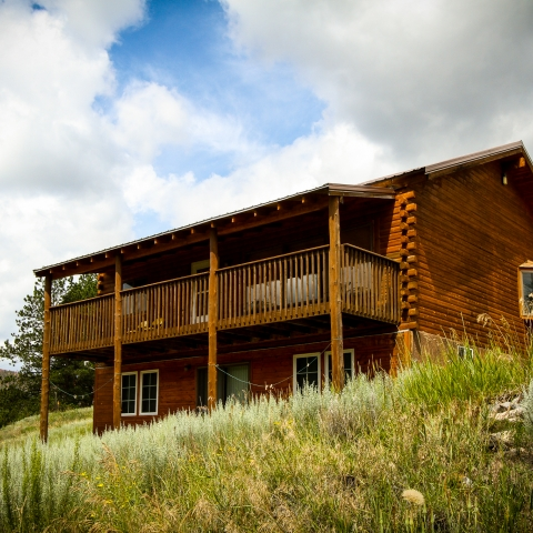 Mickelson Trail Lodge House